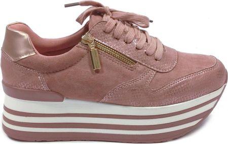 Buty damskie sneakersy Puma Suede Jr 355110 03 CZERWONY