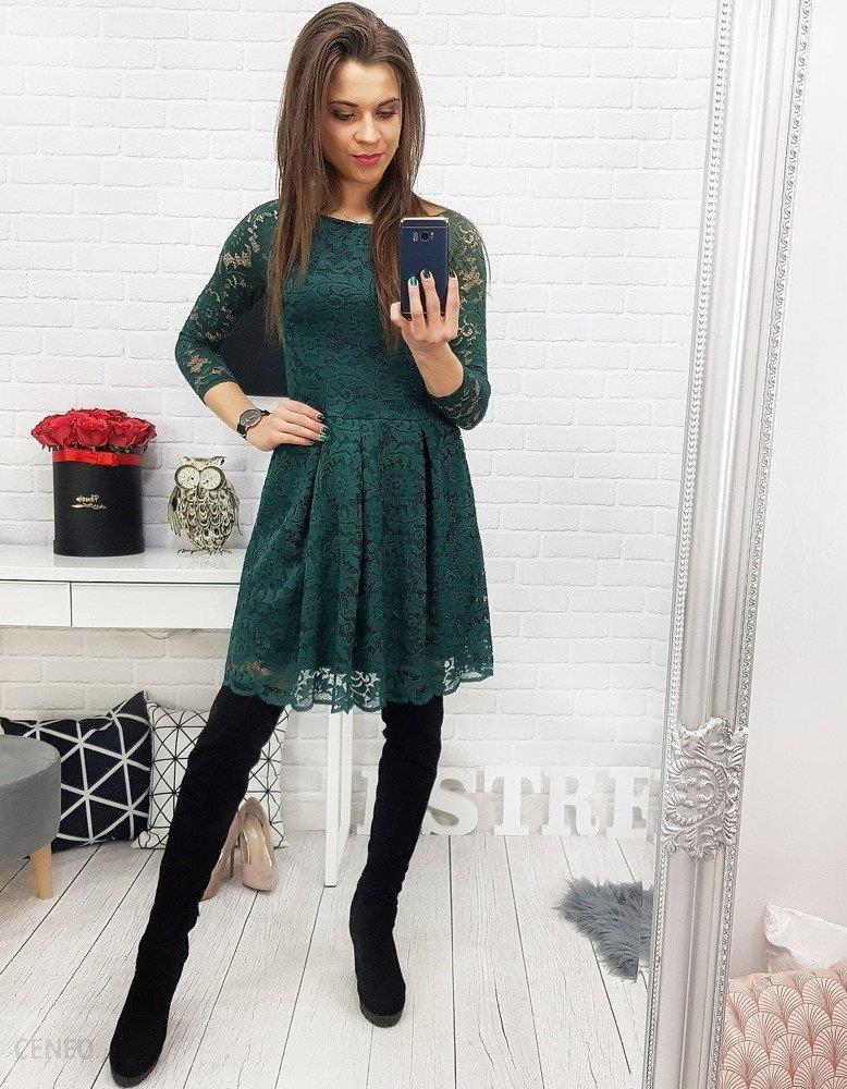 c39403a893 Dstreet Sukienka ISBEL koronkowa zielona (ey0703) - Ceny i opinie ...