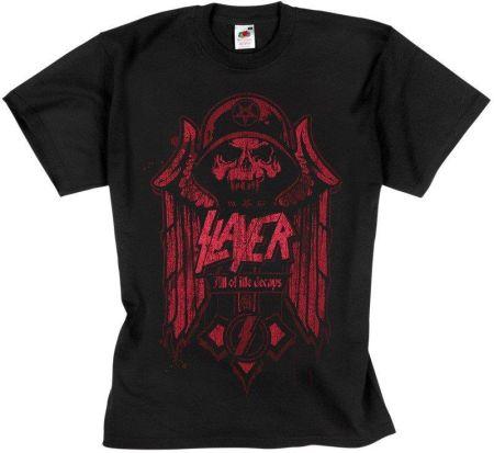 Rock Star World Koszulka Slayer - All Of Life Decays - Ceny i opinie T-shirty i koszulki męskie GMXL