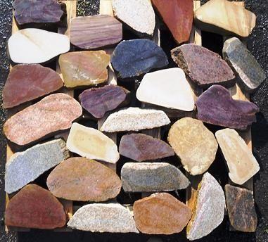 Zaktualizowano Materiały konstrukcyjne Kamień rzeczny polny - cięty płytki YX36