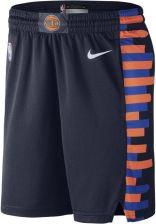 wholesale dealer 48d9e 20465 Nike Męskie Spodenki NBA New York Knicks City Edition Swingman Niebieski -  Ceny i opinie - Ceneo.pl