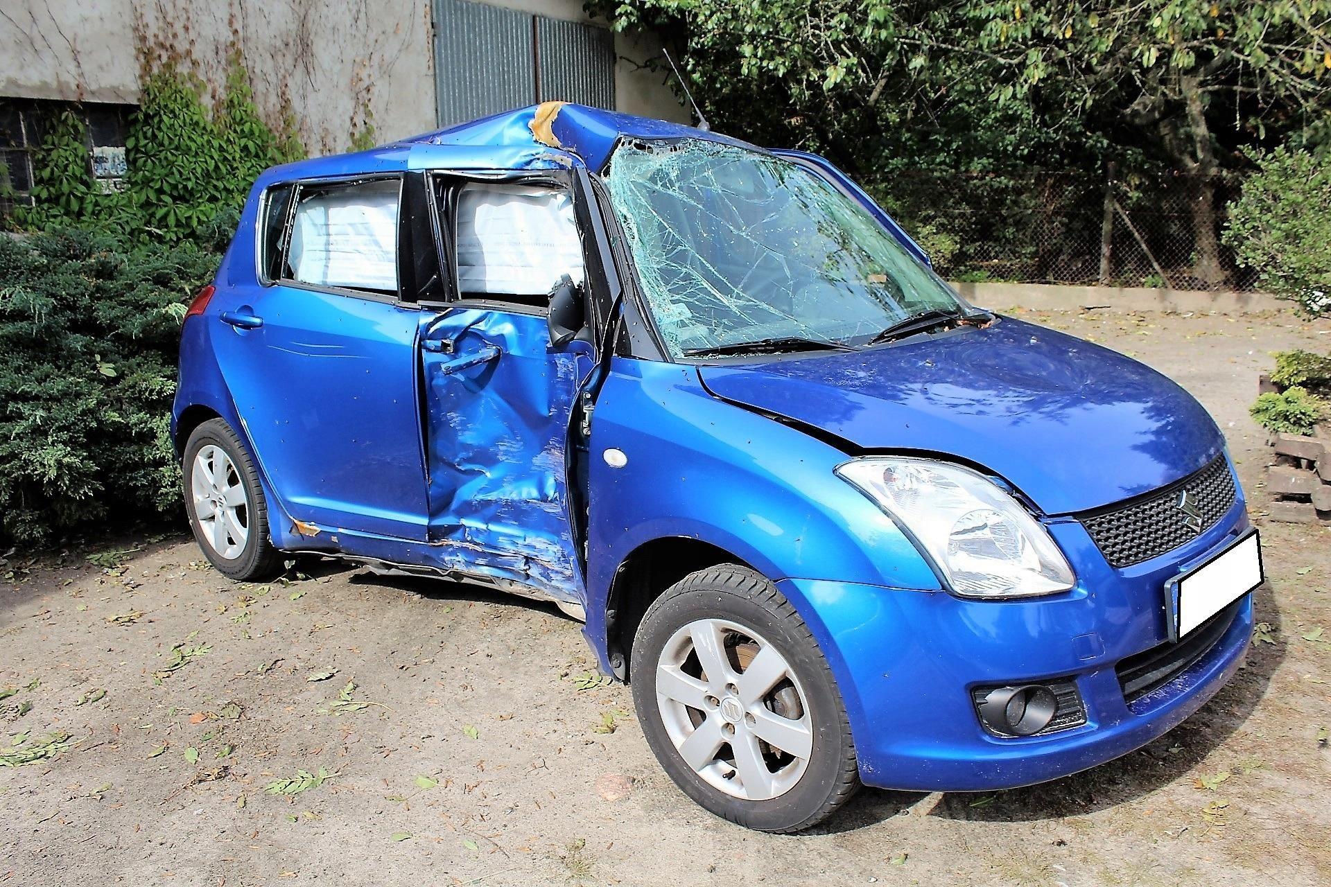 Suzuki Swift 2008 13 Pb Uszkodzony Na Części Opinie I Ceny Na