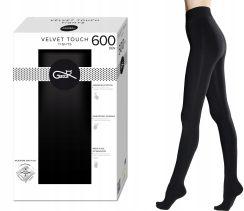 a8ead50ab540aa Rajstopy GATTA Velvet Touch, 600 DEN czarne, 3-M Allegro