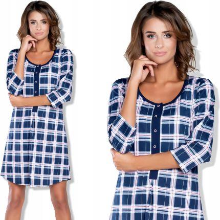 9c3448898c5620 ITALIAN FASHION koszula nocna SANITA rozpinana L Allegro. Pidżama damskaITALIAN  FASHION koszula ...