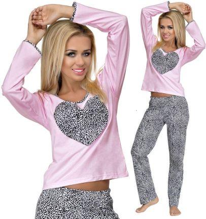 1792a62fb20c94 Długa piżama z zającem bawełny spodnie i bluza S - Ceny i opinie ...