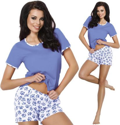 e268f1180028dd Damska bambusowa piżama GABRIELLE ze szlafrokiem XL Srebrny - Ceny i ...