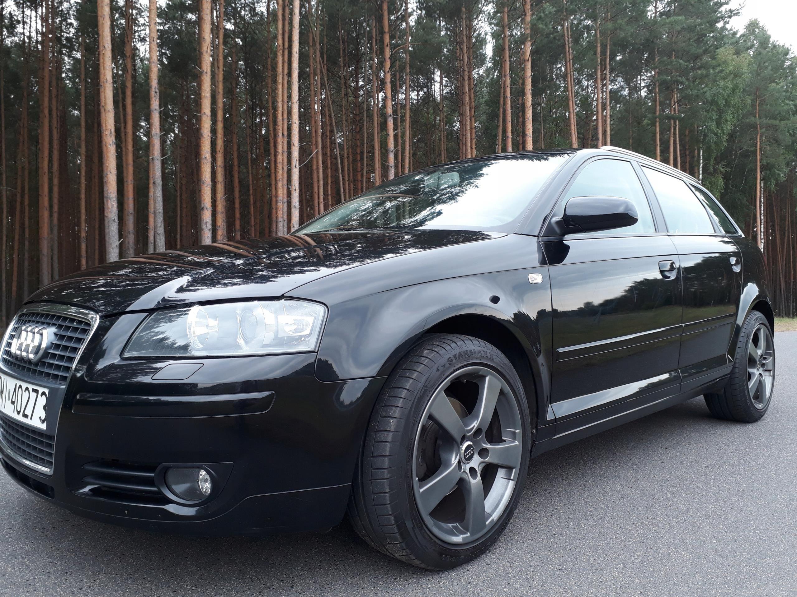 Audi A3 8p Sportback 19 Tdi Navixenonwebasto Opinie I Ceny Na