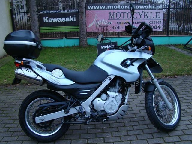 Motocykl Bmw F650 Gs Motorakowski Opinie I Ceny Na Ceneopl