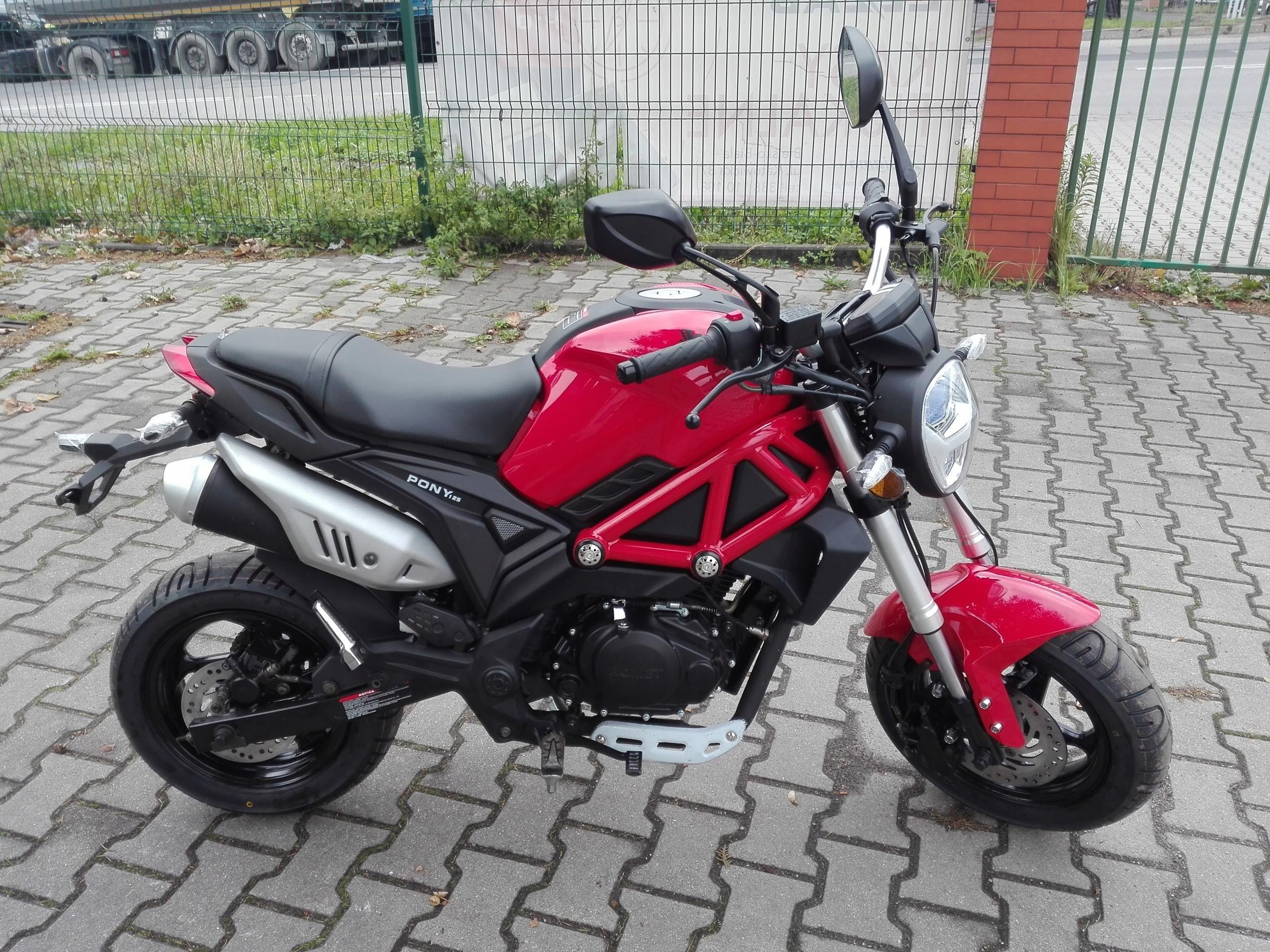 Motocykl 125 Romet Pony Nowosc Roku 2018 Bielsko Opinie I Ceny Na Ceneo Pl