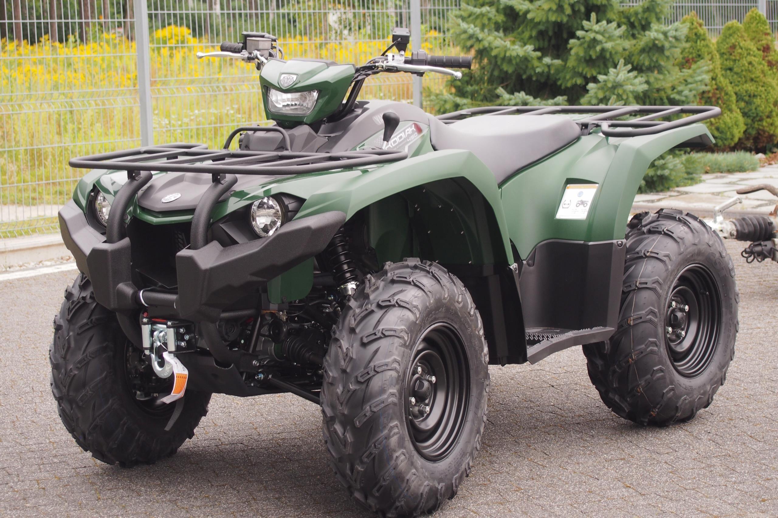 Yamaha Kodiak Grizzly Yfm450 Pojazd Demo 10 Opinie I Ceny Na Ceneo Pl