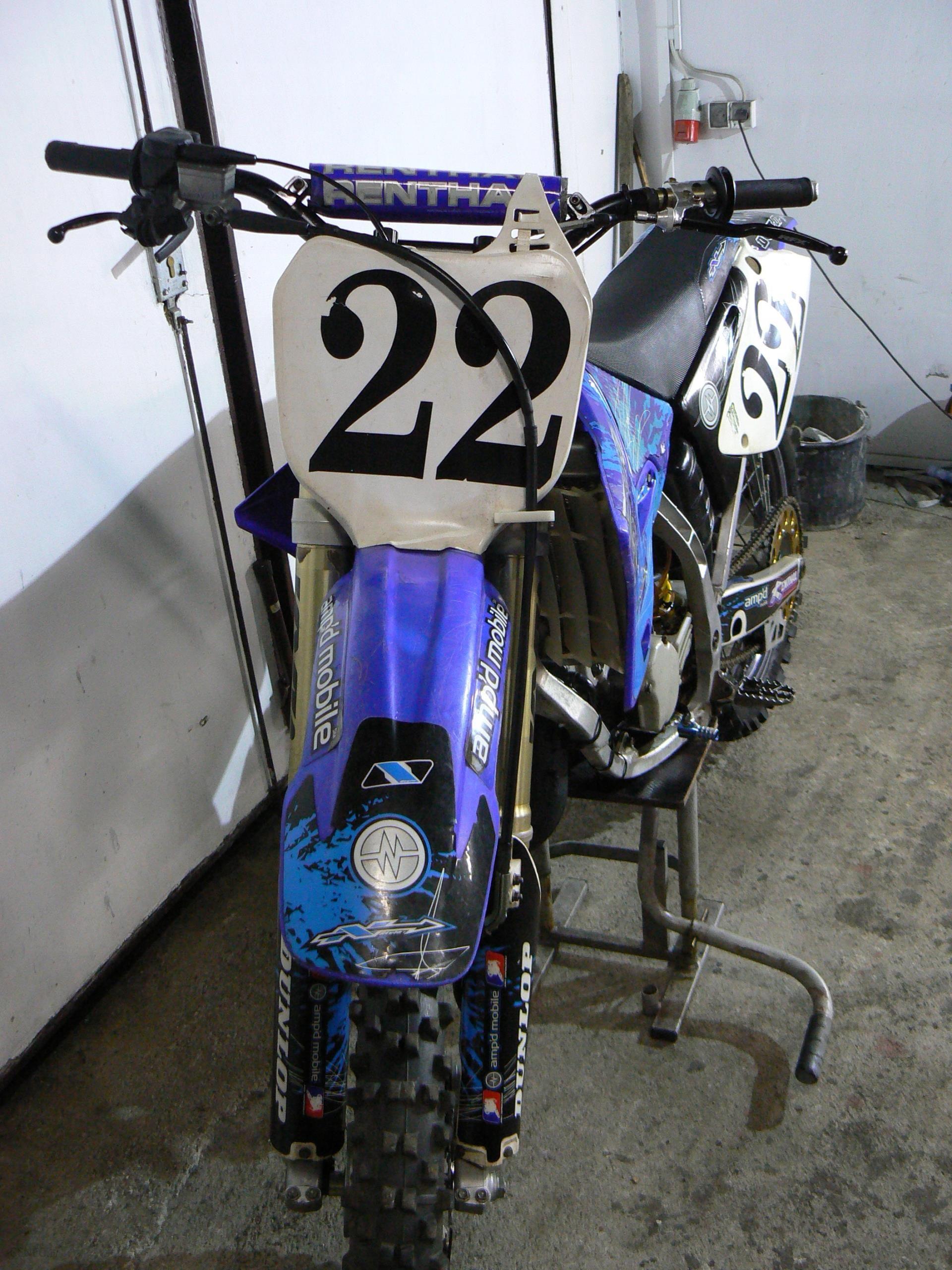 Yamaha Yz 125 Cr Rm Aluminiowa Rama Opinie I Ceny Na Ceneo Pl