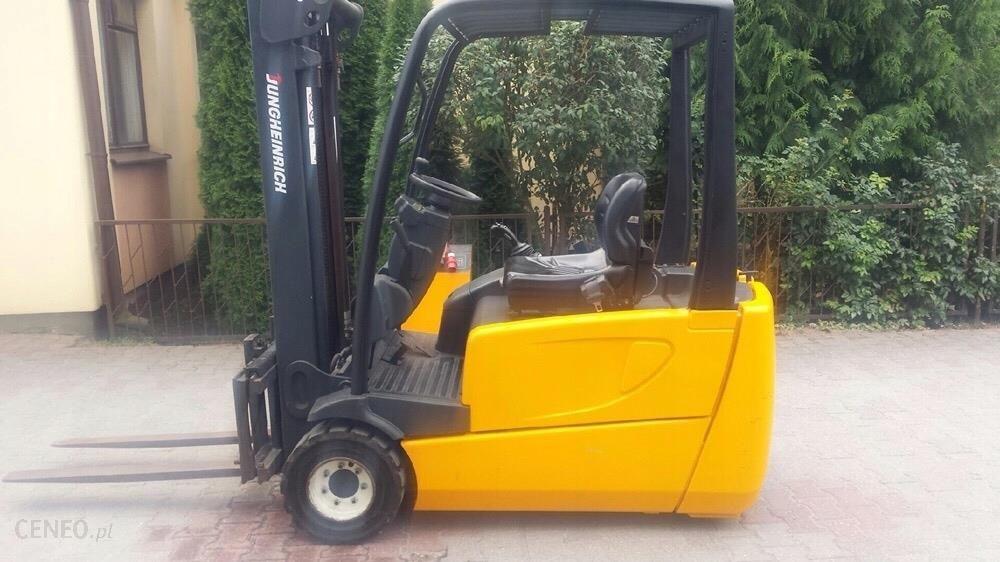 Nowość Wózek widłowy elektryczny JUNGHEINRICH - Opinie i ceny na Ceneo.pl JO85