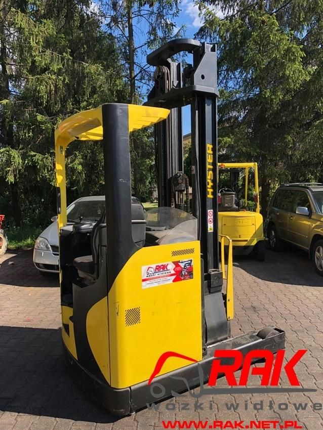 Aktualne Wózek widłowy boczny Reach Truck Hyster R1.4H - Opinie i ceny na CY79