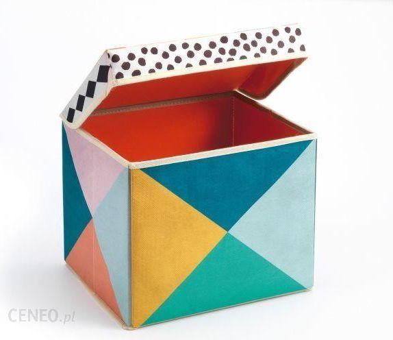 Djeco Trójkąty Pudełko Na Zabawki Siedzisko