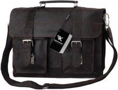 dff06d979c57a Kochmanski torba skórzana A4 na laptop 15