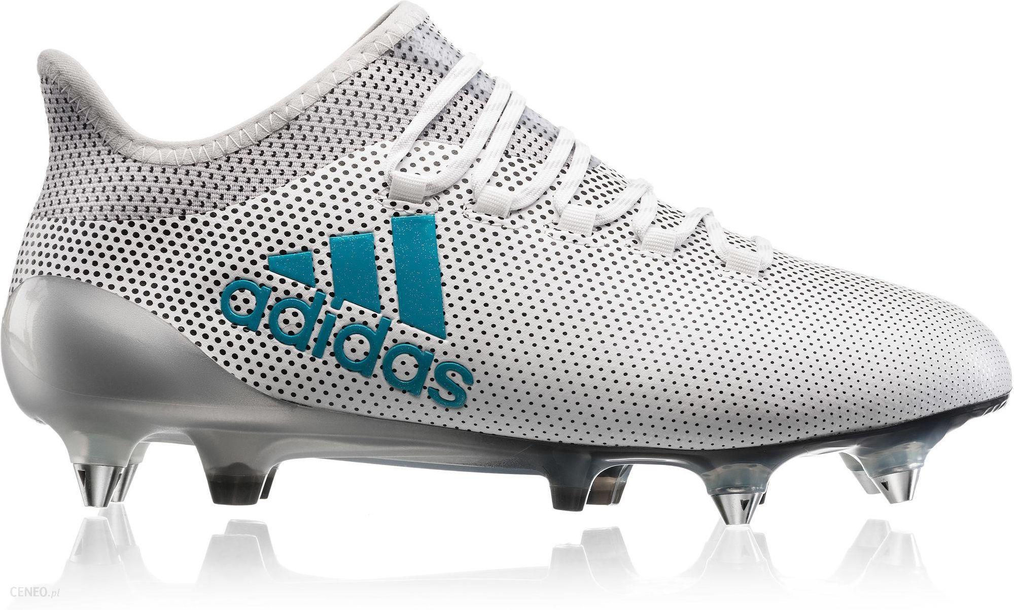 butik wyprzedażowy na sprzedaż online rozsądna cena Adidas Buty Piłkarskie Korki X 17.1 Techfit Sg Białe S82315