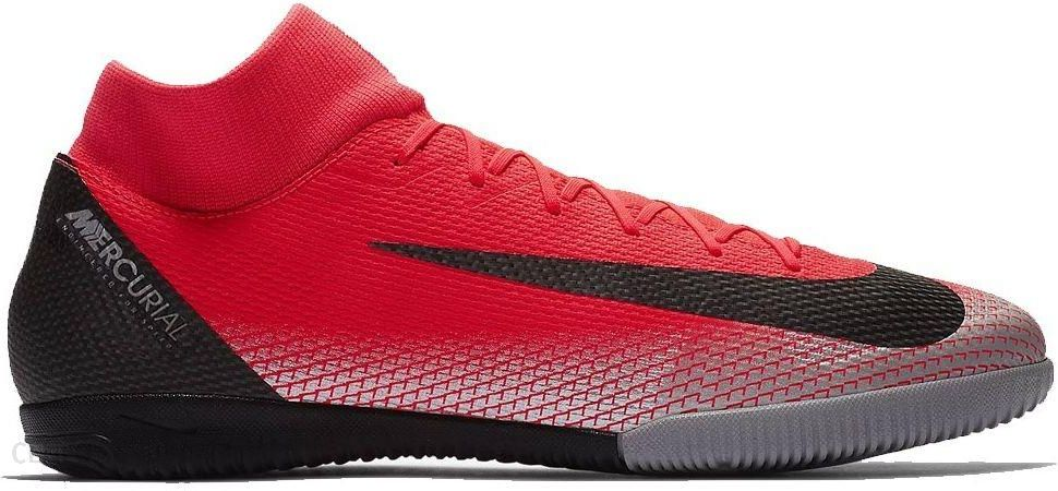 przystojny Najlepiej informacje o wersji na Nike Buty Piłkarskie Halowe Mercurial X Superfly Vi Academy Cr7 Ic Czerwone  Aj3567600