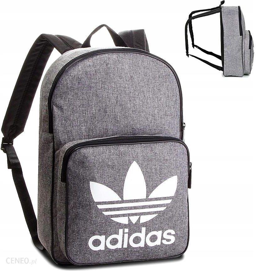 Plecak Adidas Originals Plecak Trefoil Casual Szary Melanż D98923 Ceny i opinie Ceneo.pl