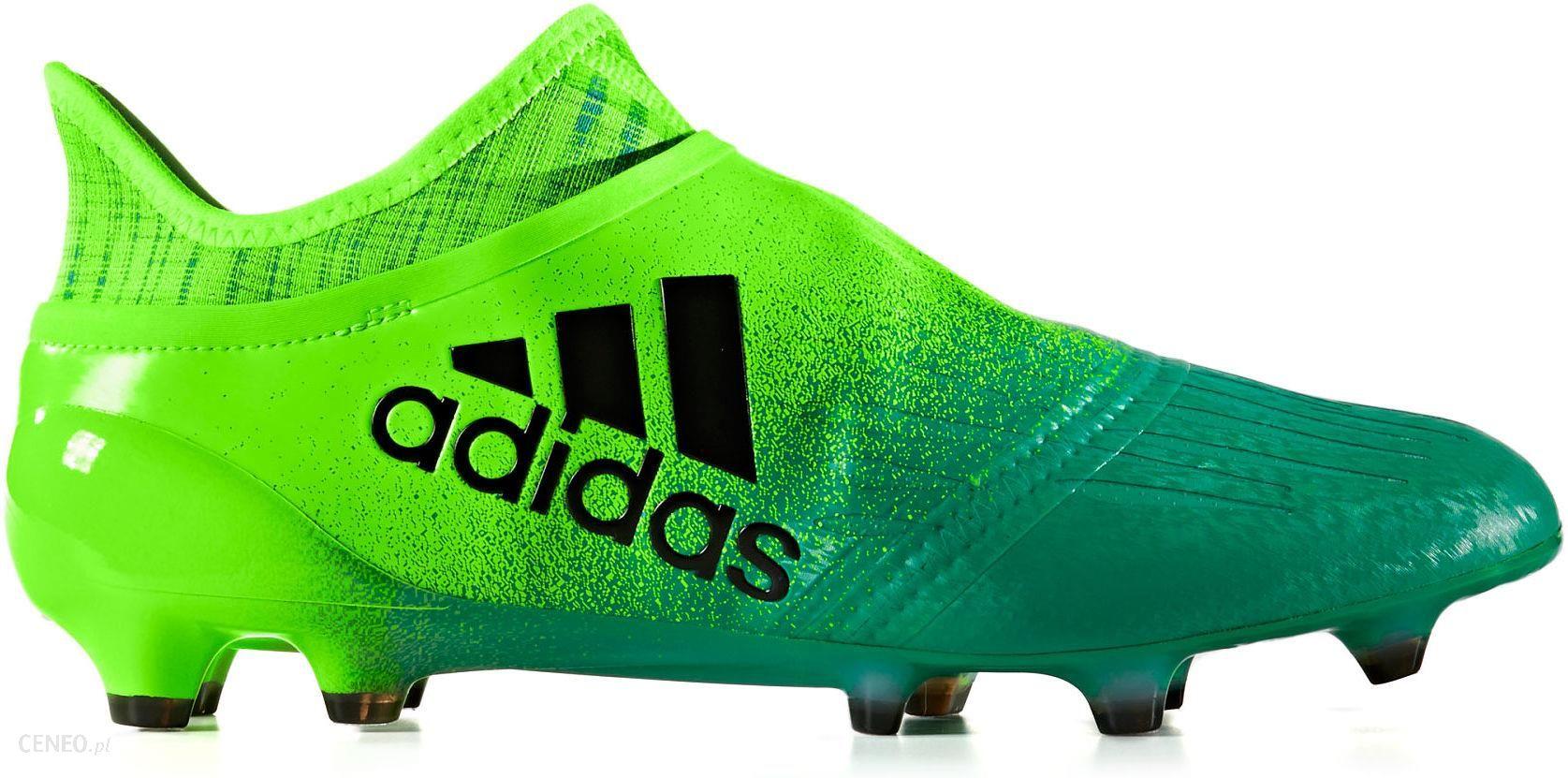 Adidas Buty Piłkarskie Korki X 16+ Purechaos Fg Zielone Bb1075 Ceny i opinie Ceneo.pl