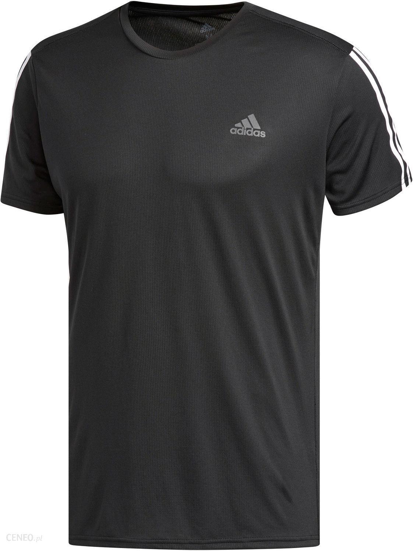 Adidas Running 3 Stripes Tee Czarna Dm1665 Ceny i opinie Ceneo.pl
