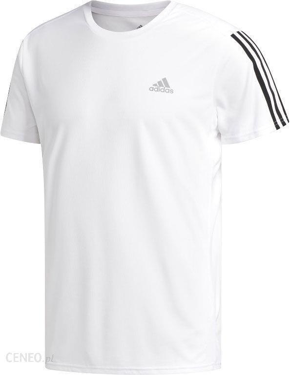 Koszulka damska Running 3 Stripes Tee Adidas (biała) sklep