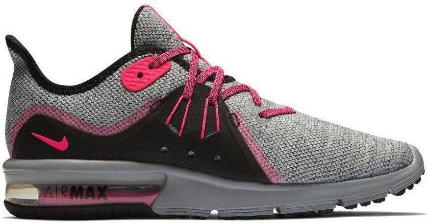 Nike Air Max Sequent 3 Wms Szaro Różowe 908993015