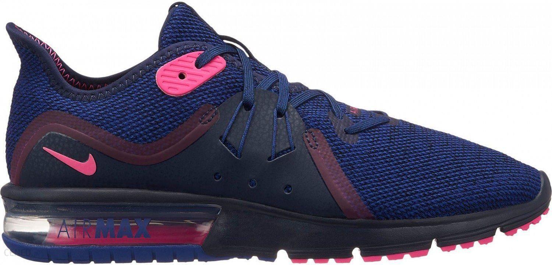 Nike Air Max Sequent 3 Wms Granatowe 908993403