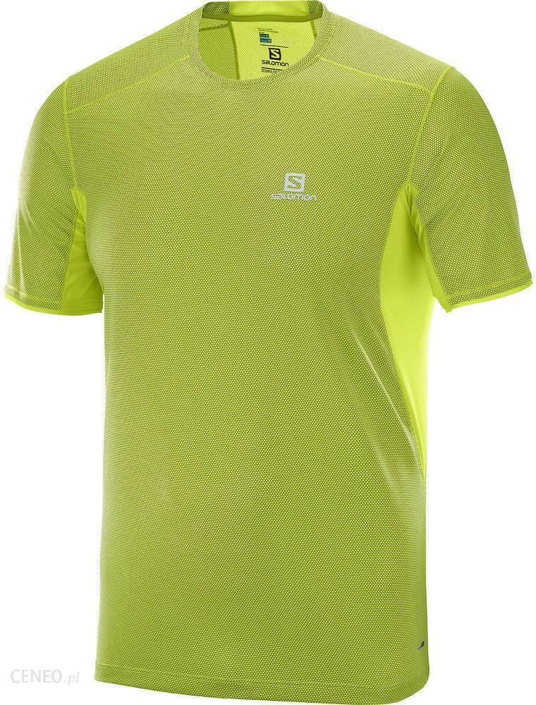 Salomon Trail Runner Ss Tee Limonkowa L40101900
