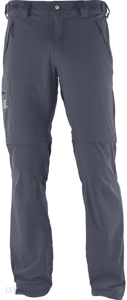 Spodnie trekkingowe męskie Wayfarer Straight Zip 2w1 Salomon