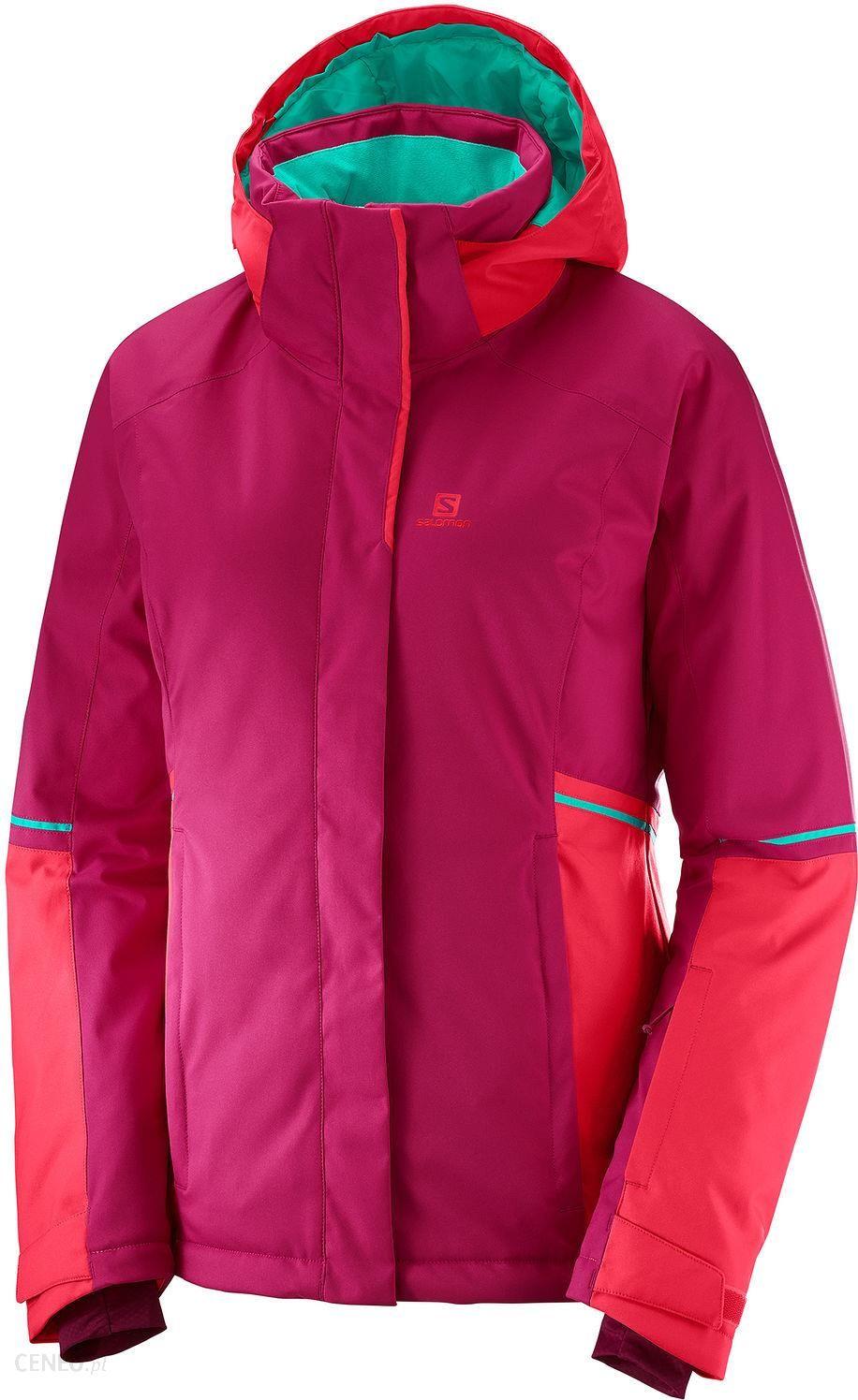 Salomon Narciarska Damska Stormseason Różowa L40386200