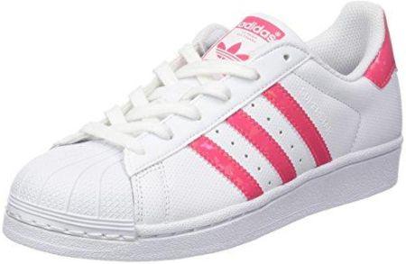 brand new b2846 e2192 Amazon adidas Superstar sneakersy dziecięce, uniseks, czarne - kość  słoniowa - 36 2