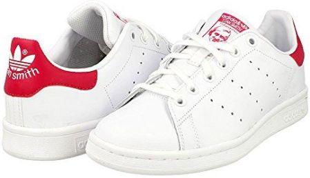2c843057593ccc Amazon adidas Originals buty typu sneaker dla dziewcząt, Stan Smith Low-Top  - biały