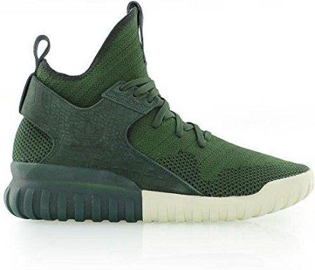 reputable site 9f7ea ddc20 Amazon Adidas Originals Tubular X Primeknit męskie buty typu sneaker,  kolor zielony, rozmiar