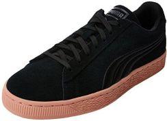 7e0af418cf08cb Amazon Puma Suede Classic Badge buty typu sneaker dla dorosłych, unisex -  czarny - 41