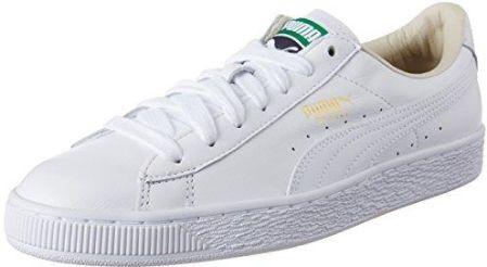 meet dfbc8 cd34f Amazon PUMA Basket Classic LFS, męskie buty typu sneaker - biały - 40.5 EU