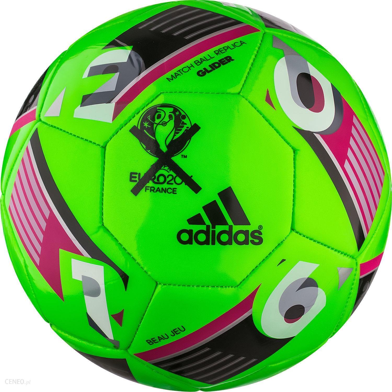 Adidas Pilka Nozna Beau Jeu Uefa Euro 2016 Top Glider 5 Zielony Neon Az1648b Ceny I Opinie Ceneo Pl