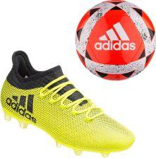 62a70af80bf1b Adidas Buty Piłkarskie Korki X 17.2 Techfit Fg+Piłka Nożna Starlancer V 5