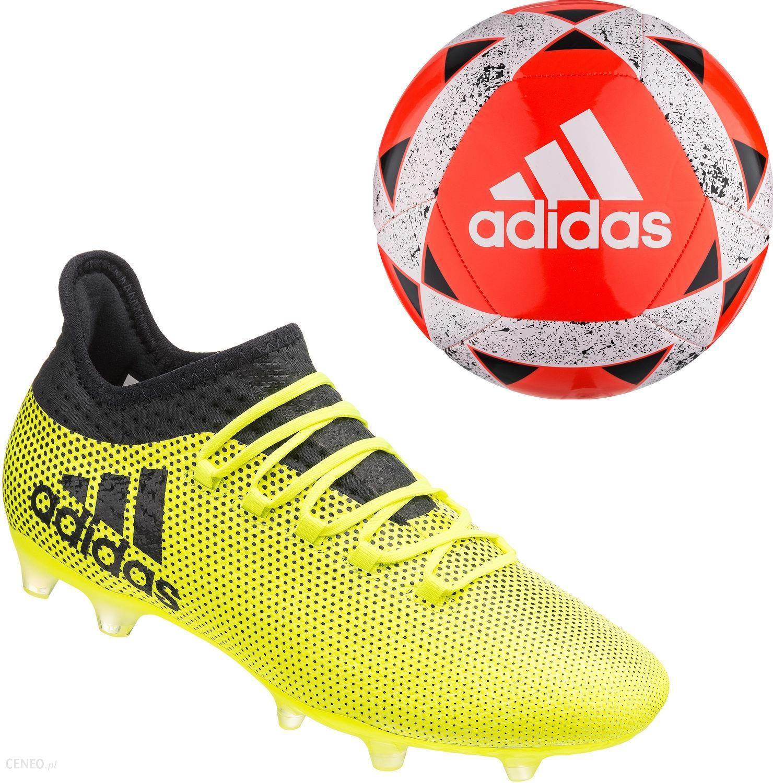 Adidas Buty Piłkarskie Korki X 17.2 Techfit Fg+Piłka Nożna Starlancer V 5