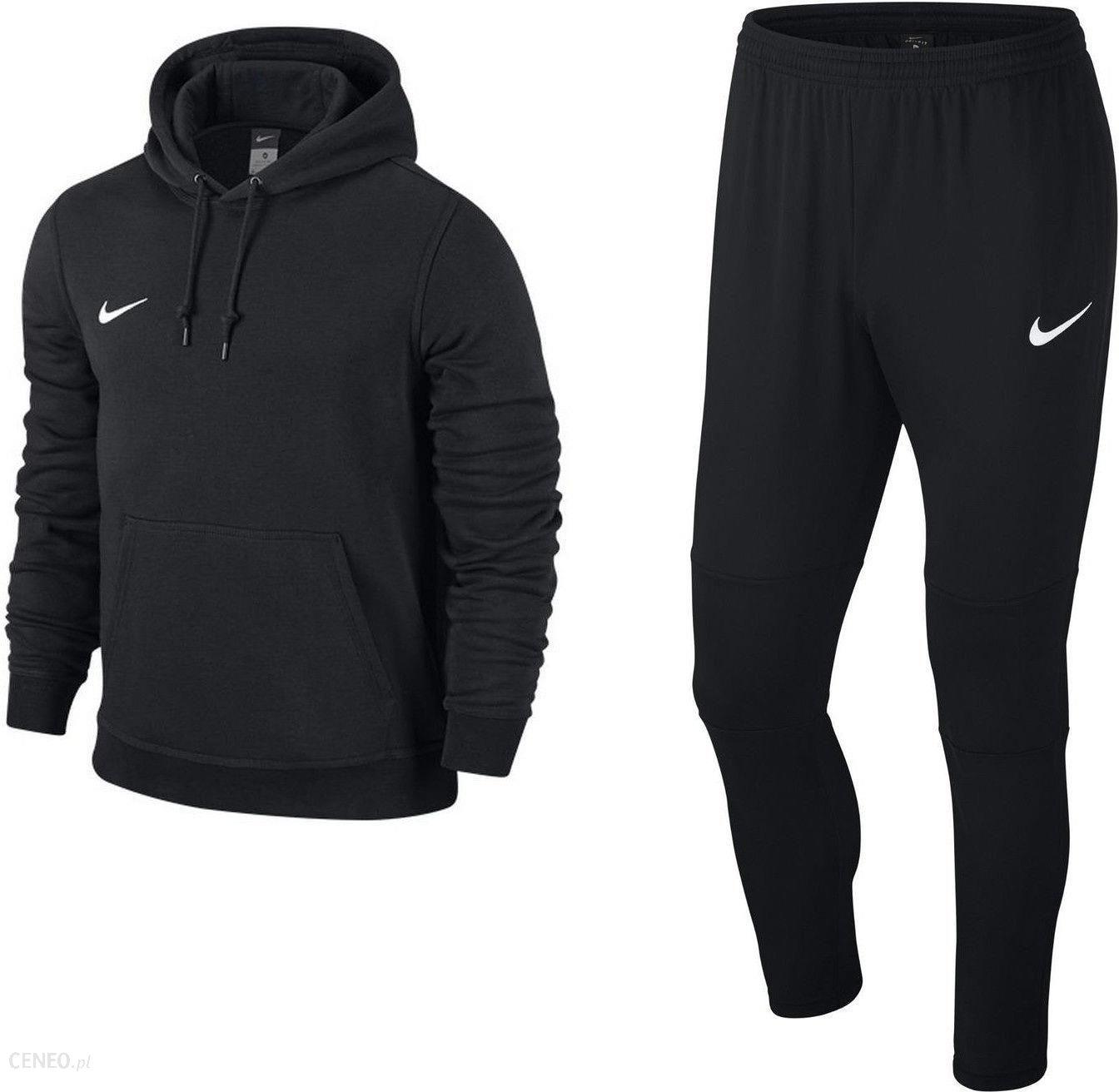 oferować rabaty gładki nowy przyjazd Nike Zestaw Bluza Męska Team Club Hoody + Spodnie Dresowe Dry Park 18  Czarny - Ceny i opinie - Ceneo.pl