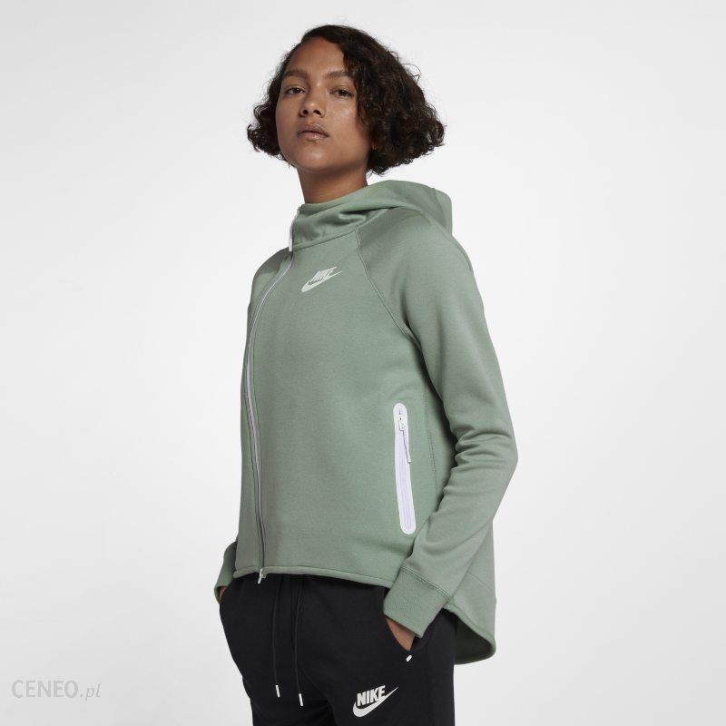 Nike Damska satynowa bluza dresowa Nike Air Czerwony