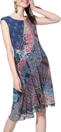38727c39bd Desigual kolorowe sukienka Vest Rasha - M