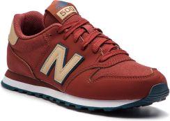 Sneakersy NEW BALANCE - GM500CRN Bordowy eobuwie 37463a9c7e938
