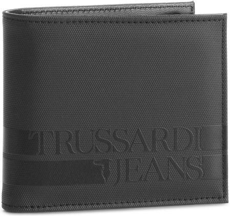 af5bcfa194575 Duży Portfel Męski TRUSSARDI JEANS - Turati Wallet Coin 71W00047 K299  eobuwie