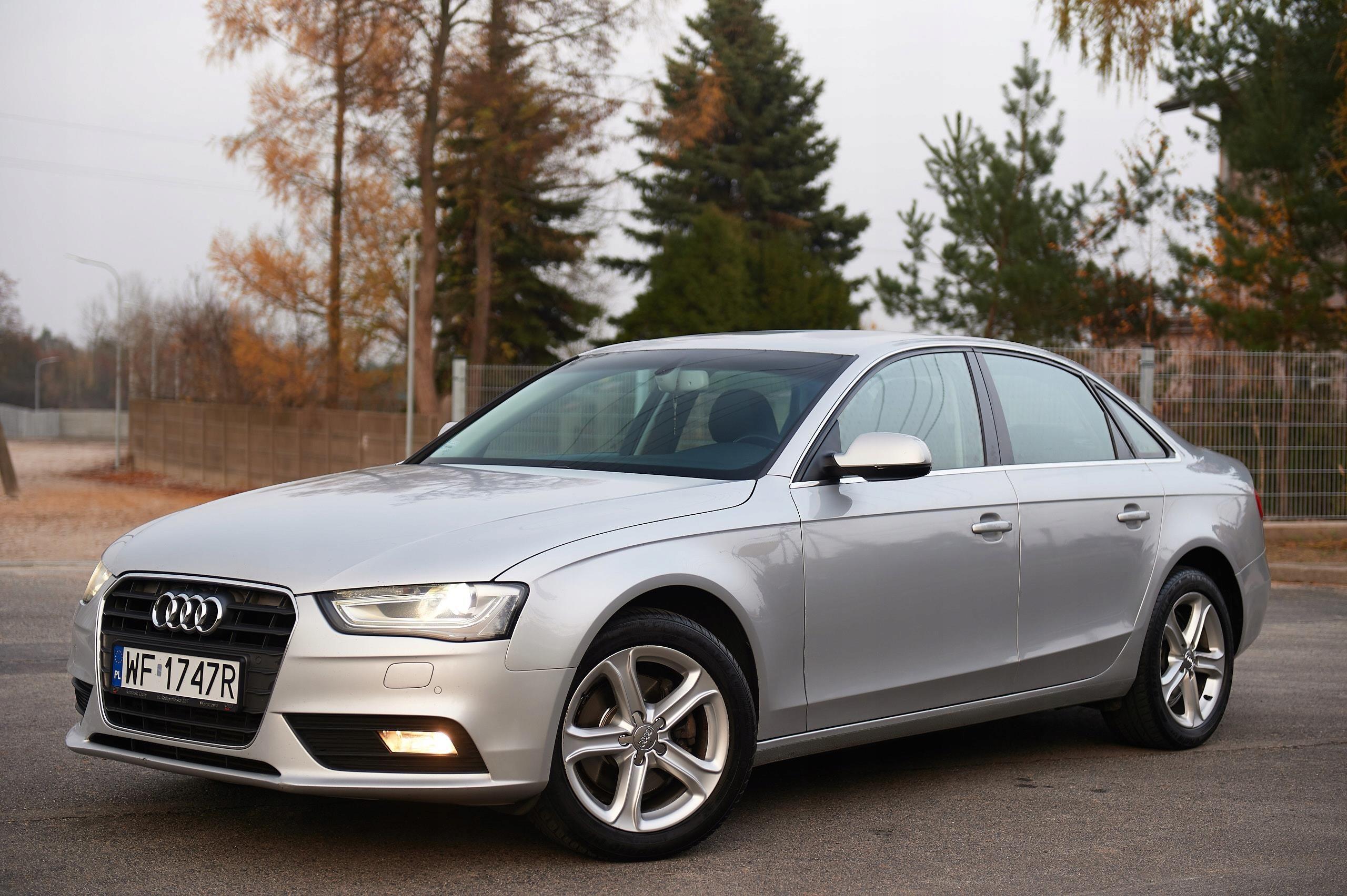 Audi A4 B8 Sedan 2 0 Tdi Automat Zarej Pl