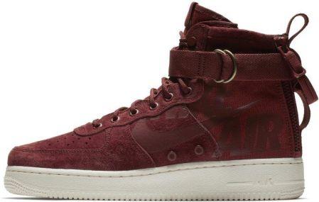 Nike Buty męskie Air Force 1 SF Mid czerwone r. 43 (917753 202)