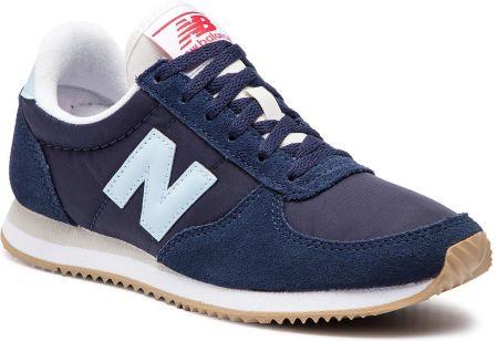 the best attitude e691e 024ac Sneakersy NEW BALANCE - WL220CRC Granatowy eobuwie