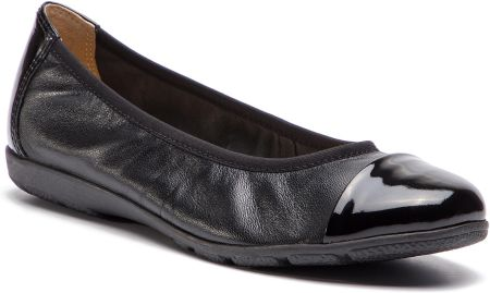 cca922e9bc319 Baleriny TOMMY HILFIGER - Pearlized Leather Ballerina FW0FW03412 ...