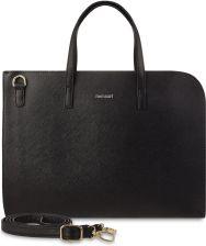 b8b4f4fa0c656 Klasyczna aktówka monnari torba na laptopa torebka teczka na dokumenty -  czarny
