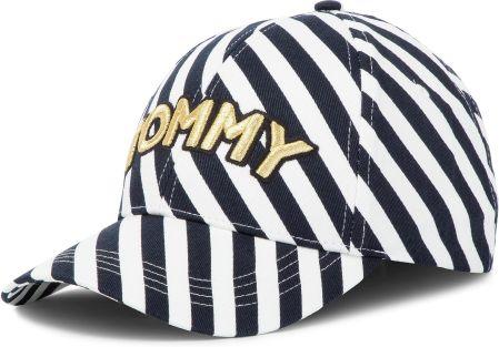 Czapka z daszkiem TOMMY HILFIGER - Tommy Patch Cap Cotton AW0AW06179 901  eobuwie 0623fbac82