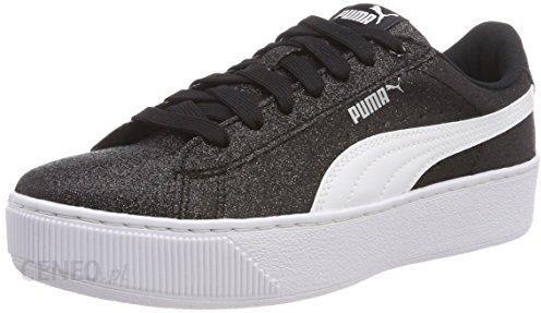 Amazon Puma Vikky Platform Glitz Jr sneakersy dziewcz?ce czarny 35.5 eu Ceny i opinie Ceneo.pl